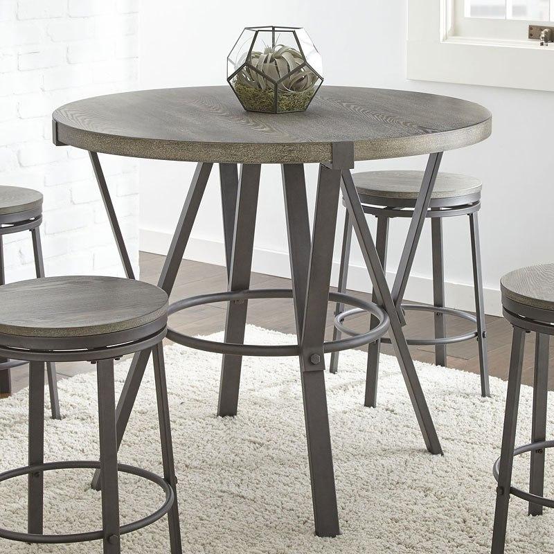 portland round counter height table by steve silver furniture furniturepick. Black Bedroom Furniture Sets. Home Design Ideas