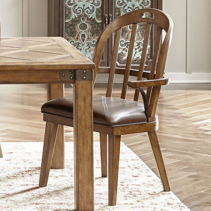 pulaski furniture dining room set | Heartland Falls Dining Room Set w/ Windsor Chairs by ...