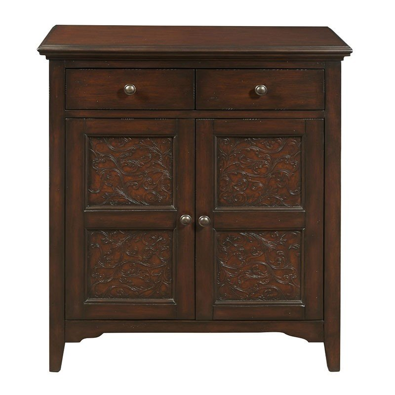 Faux Worked Metal Front Accent Cabinet Accent Chests And Cabinets Occasional And Accent