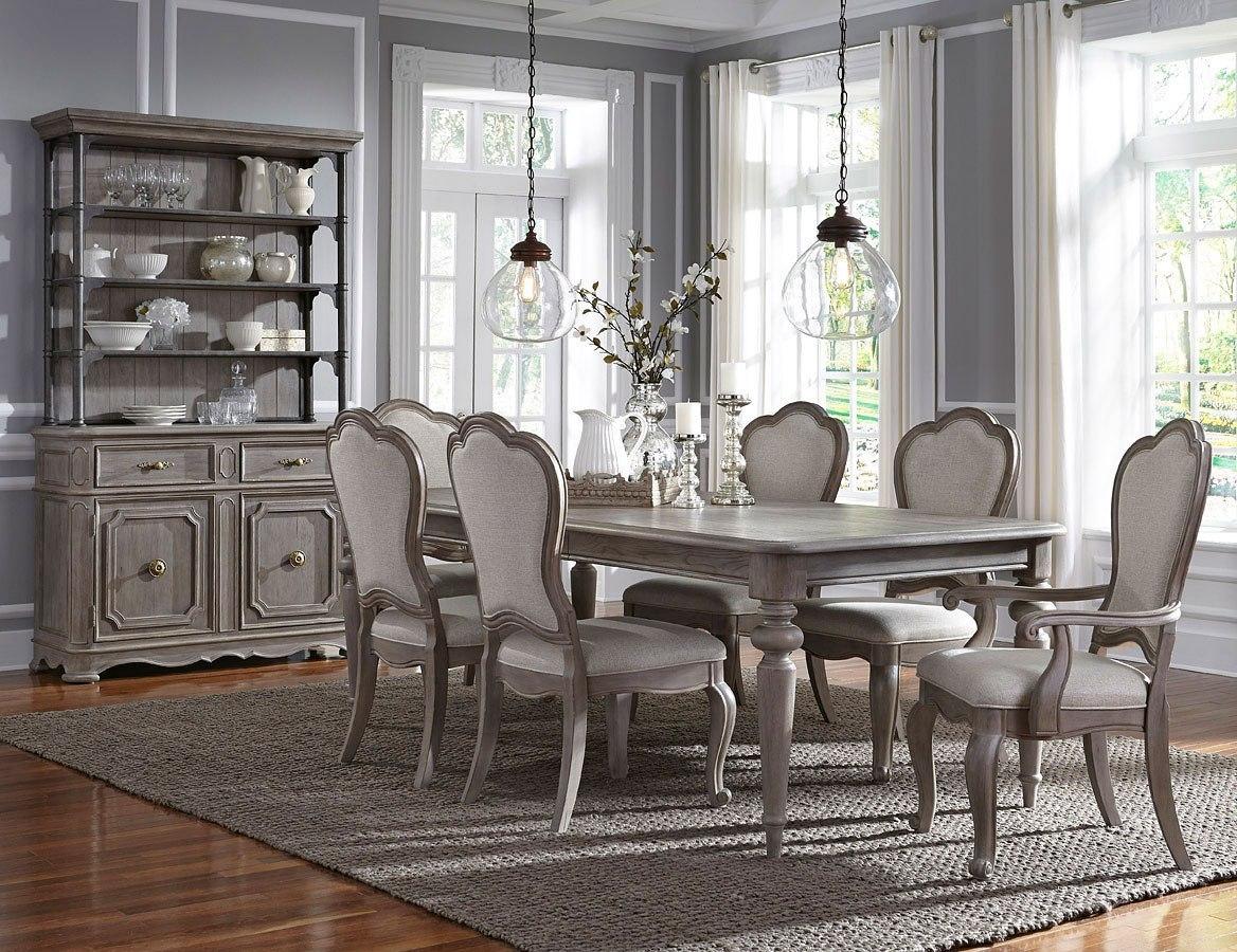 simply charming dining room set  upholstered chairs  pulaski furniture furniturepick
