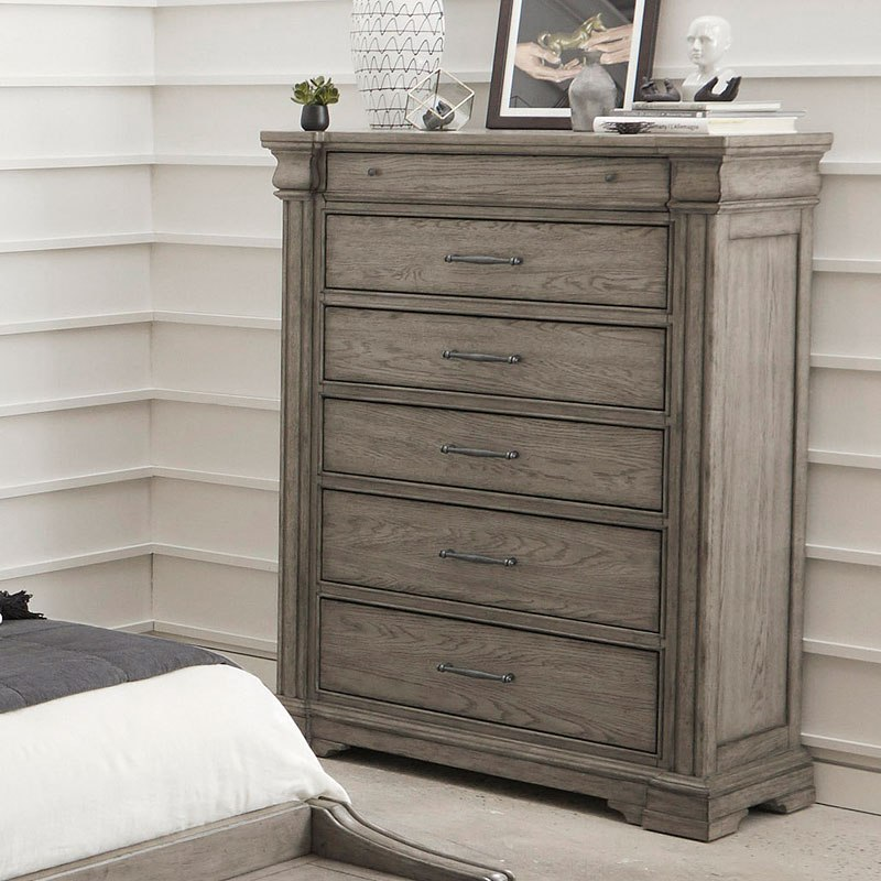 Madison Ridge Storage Bedroom Set By Pulaski Furniture