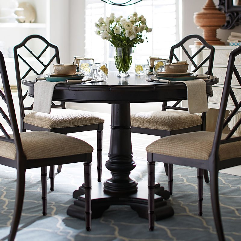 1750c196bca6 Emporium Bamboo Round Dining Table (Mahogany) by Progressive Furniture |  FurniturePick