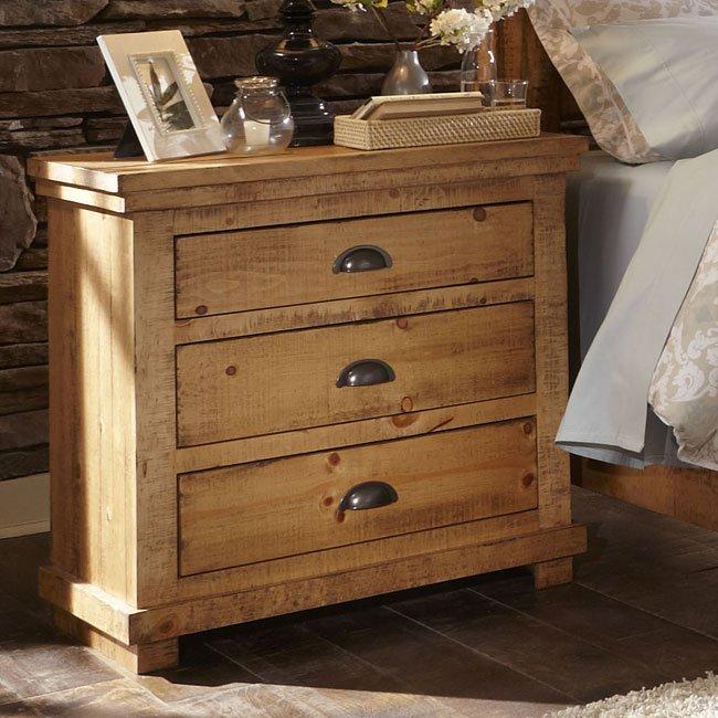 Willow Nightstand Distressed Pine Nightstands Bedroom Furniture Bedroom
