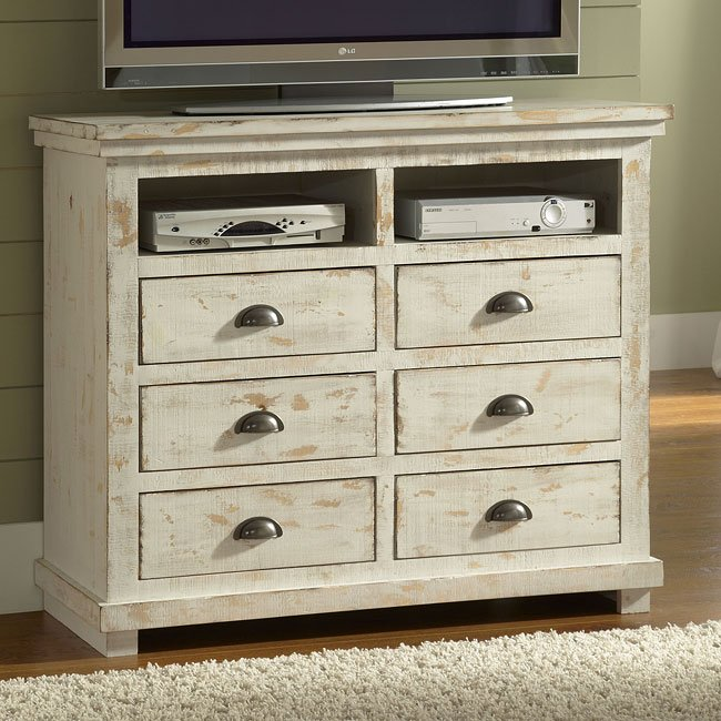 Willow Media Chest Distressed White Media Chests Media Cabinets Tv Chests Bedroom