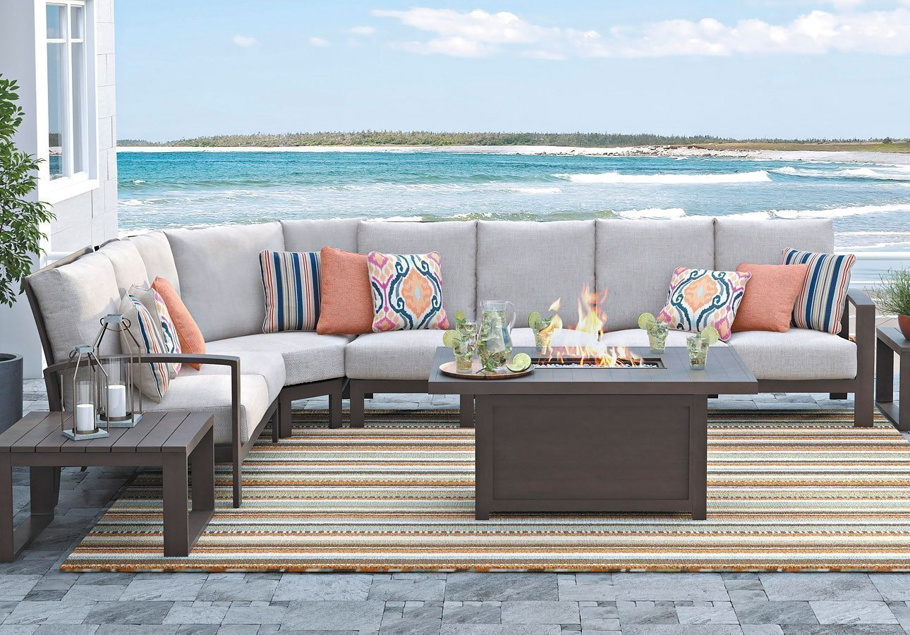 Cordova Reef Outdoor Modular Sectional - Cordova Reef Outdoor Modular Sectional - Outdoor Furniture - Outdoor