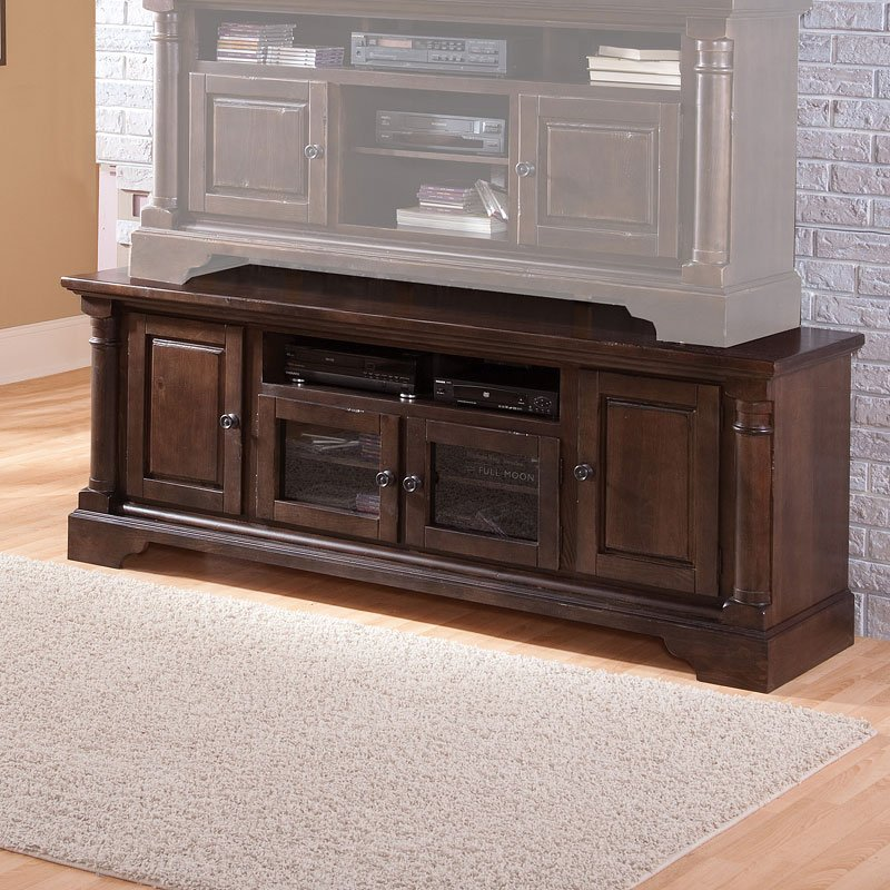 Gramercy Park 74 Inch Tv Console Tobacco Tv Stands And