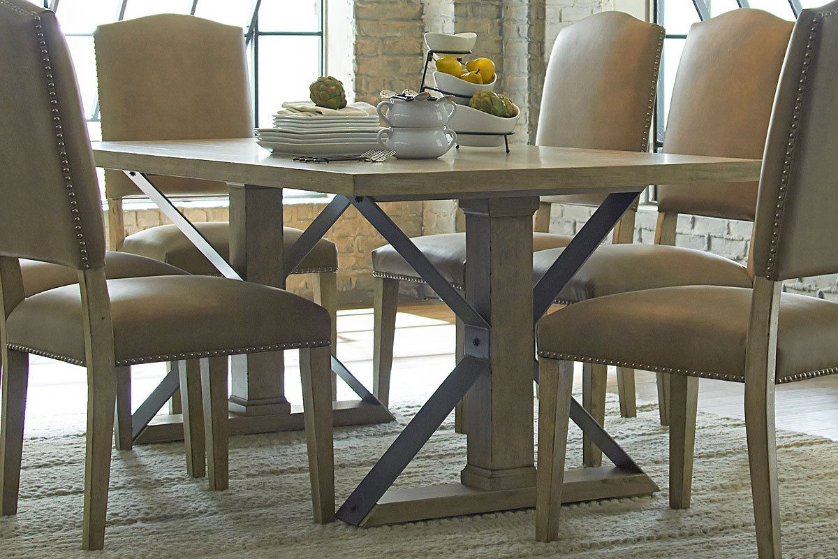 Shenandoah dining table by progressive furniture furniturepick