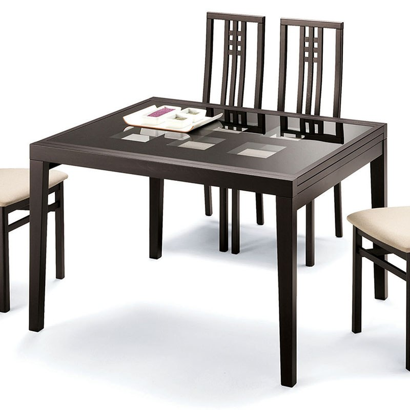 Phenomenal Poker Cappuccino Glass Table Wenge Home Remodeling Inspirations Basidirectenergyitoicom