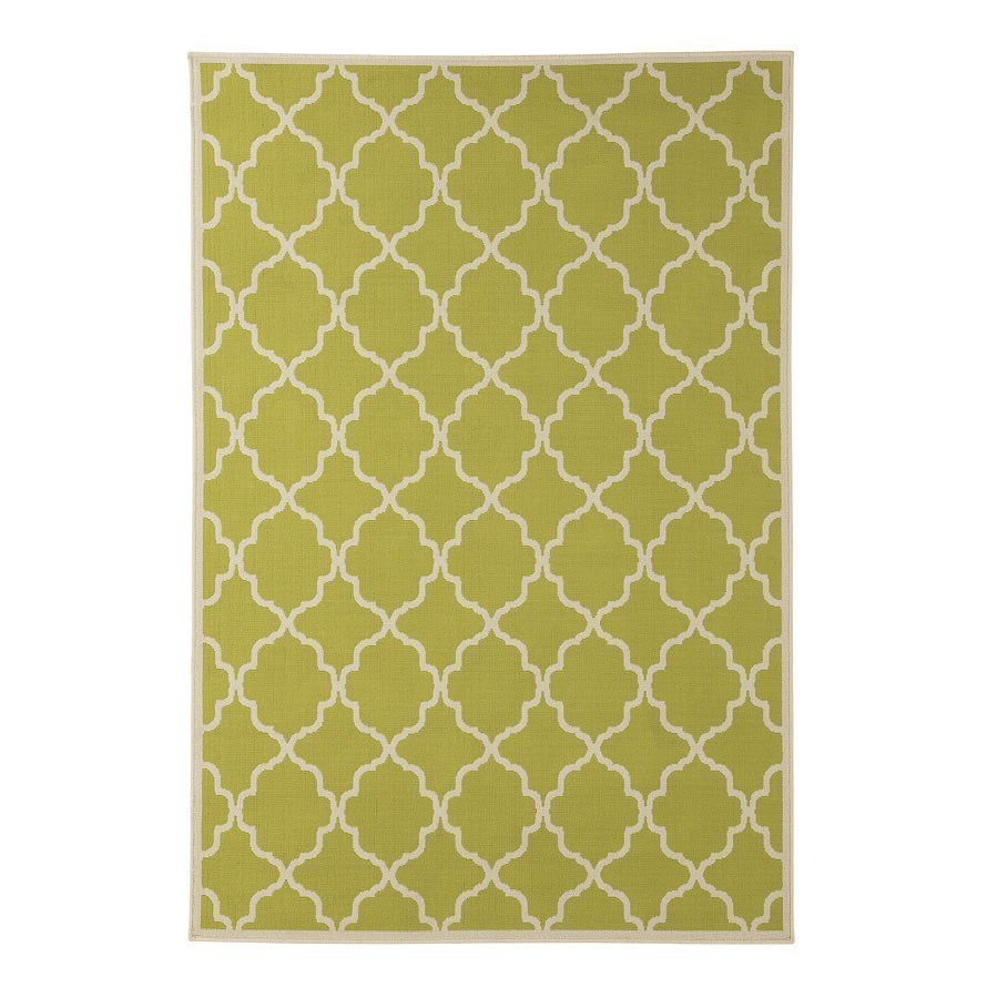 Kerry Green And Cream Large Rug By Signature Design By