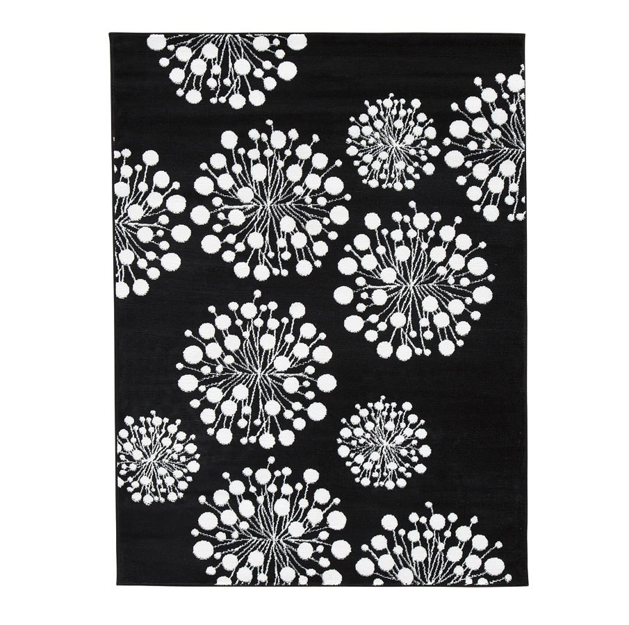 Jaliyah black and white medium rug by signature design by - Black and white rug ...