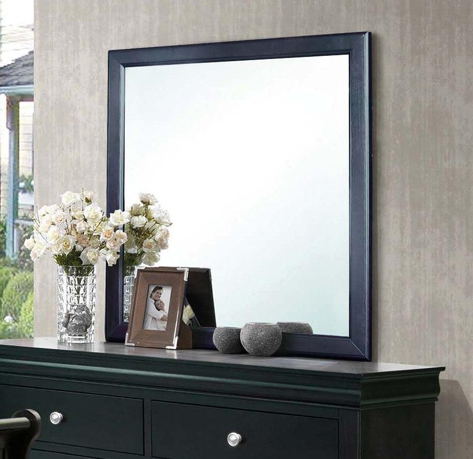 Orleans Sleigh Bedroom Set (Black) by Steve Silver Furniture ...