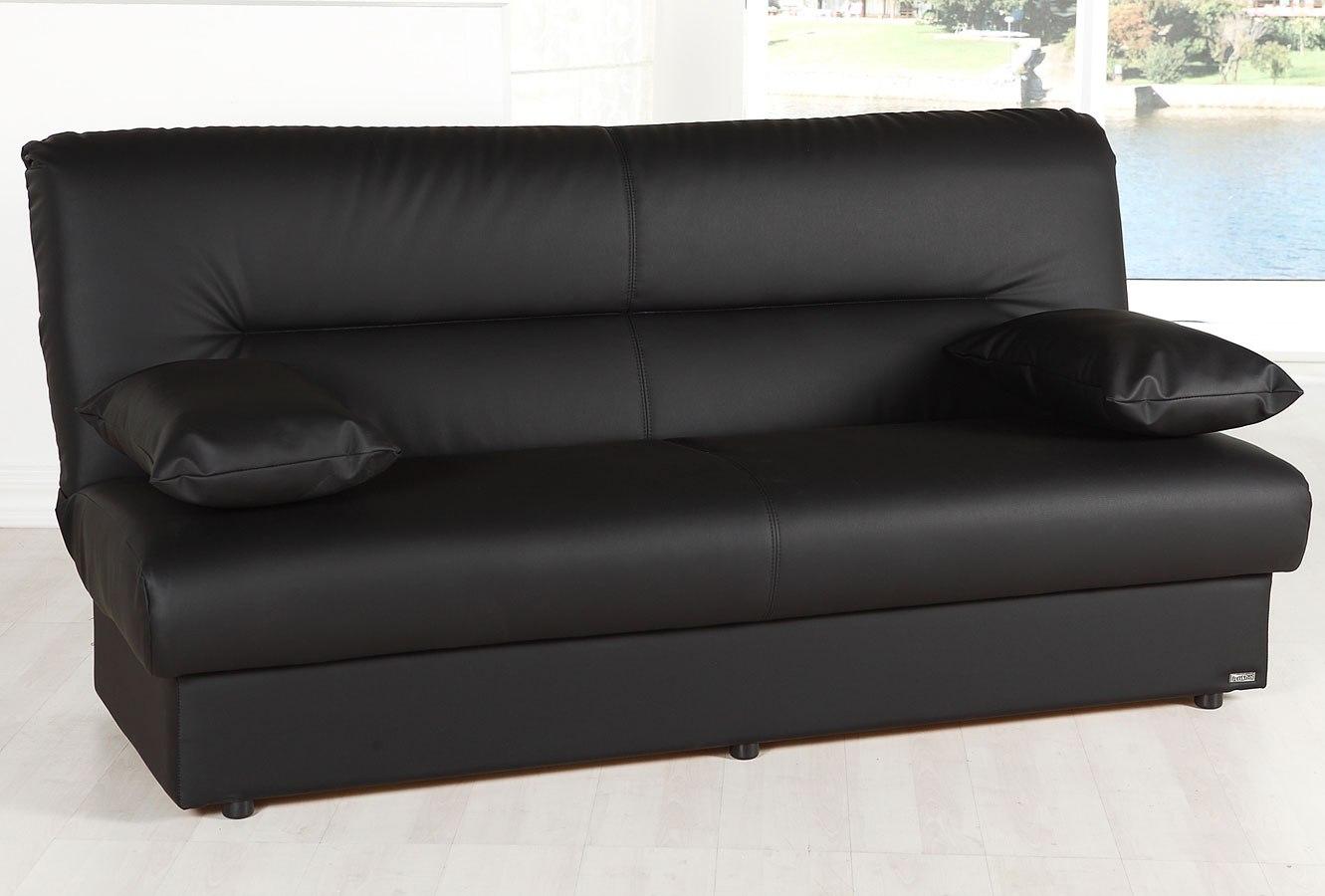 Regata Click Clack Sofa Bed Escudo Black