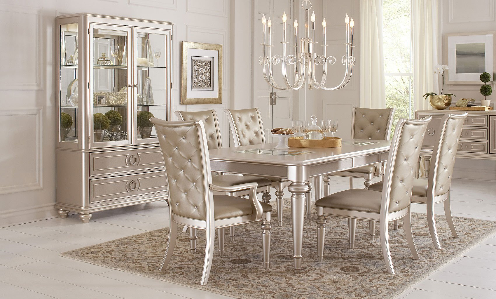 Dynasty Dining Room Set By Samuel Lawrence Furniture 1