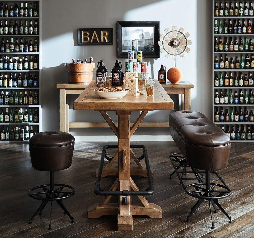 Cafe Kid Furniture Costco: Furniture City Brewing Blonde Stand-Up Pub Set W/ Ale