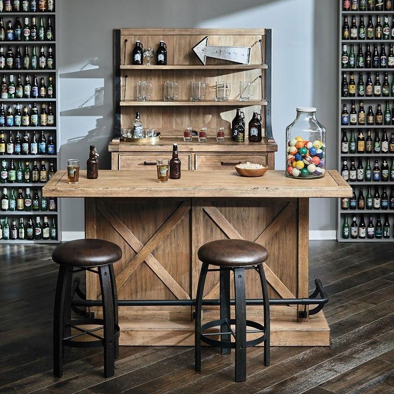 Furniture City Brewing Blonde House Bar Set W/ Whiskey