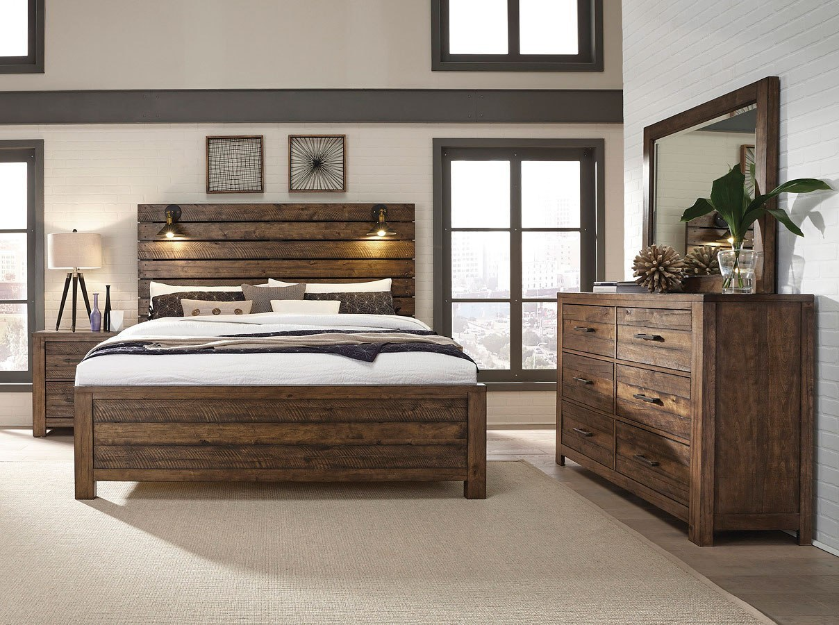 Dakota Panel Bedroom Set By Samuel Lawrence Furniture