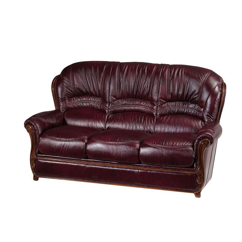 Sara Italian Leather Sofa by ESF Furniture | FurniturePick