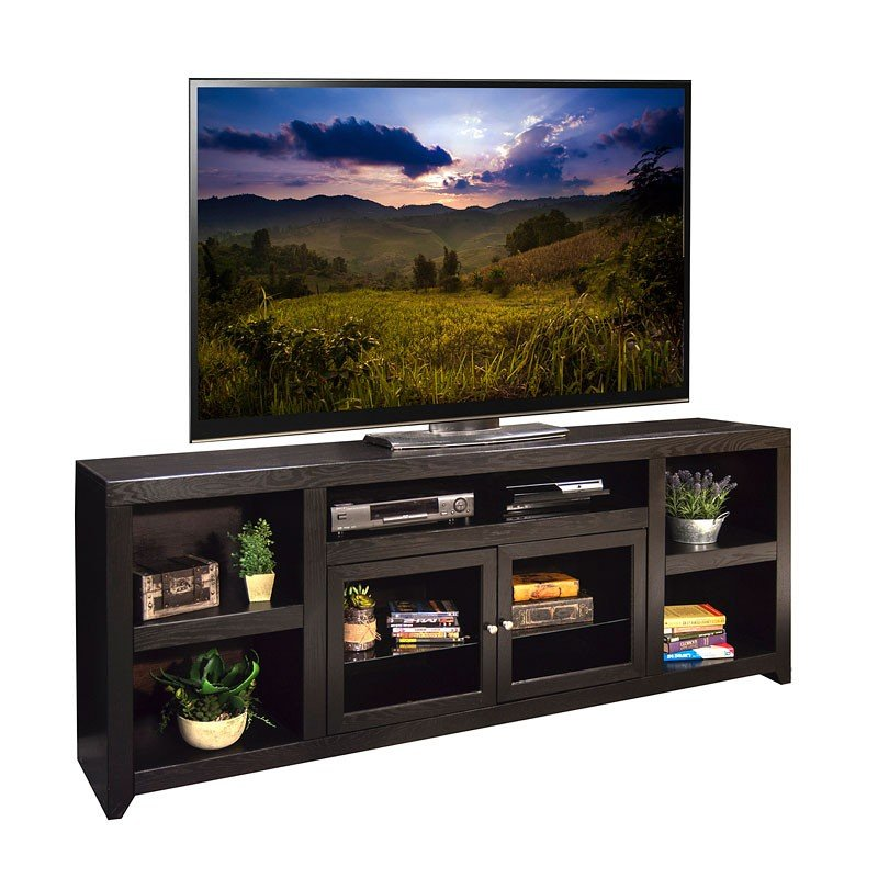 Skyline 86 inch super tv console tv stands and tv - Dresser as tv stand in living room ...