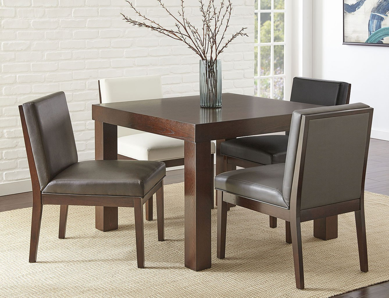 stella dining room set w emma chairs by steve silver furniture rh furniturepick com Emma's Room Signs Room Emma Donoghue Movie