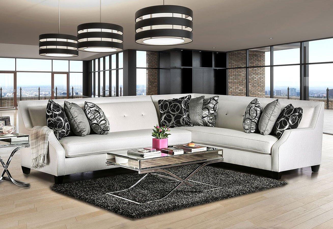 Betria Sectional By Furniture Of America Furniturepick