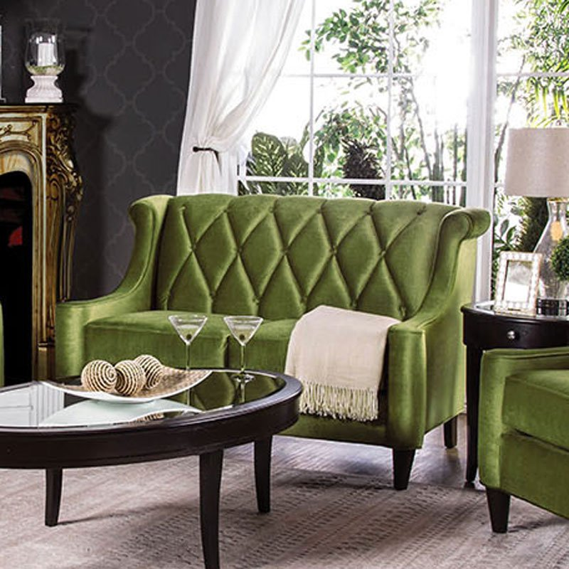 Limerick Loveseat Green