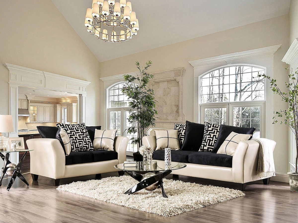 Kaelyn Living Room Set (Ivory)