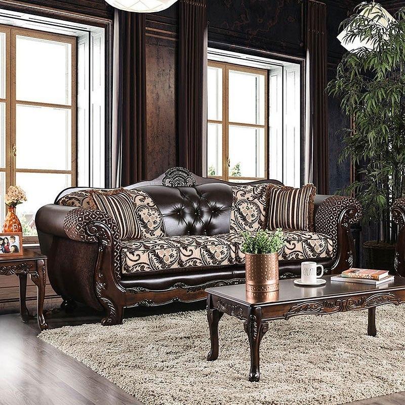 Quirino Sofa Light Brown Dark