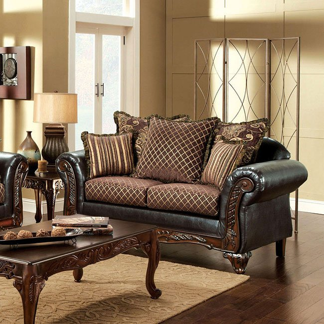 Furniture Of America Living Room Collections: San Roque Living Room Set By Furniture Of America