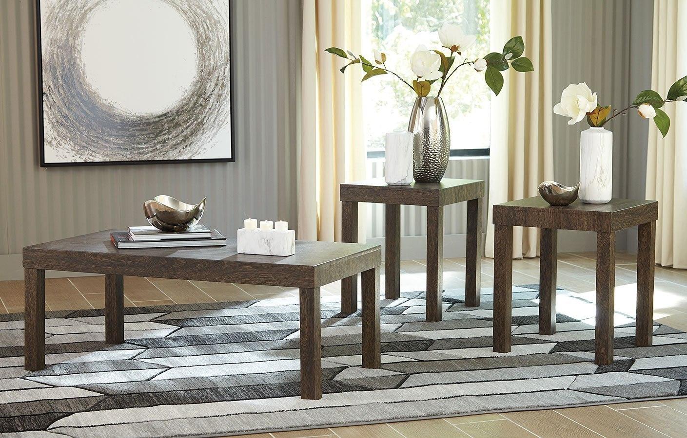 Millingar Smoke Living Room Set By Signature Design By Ashley