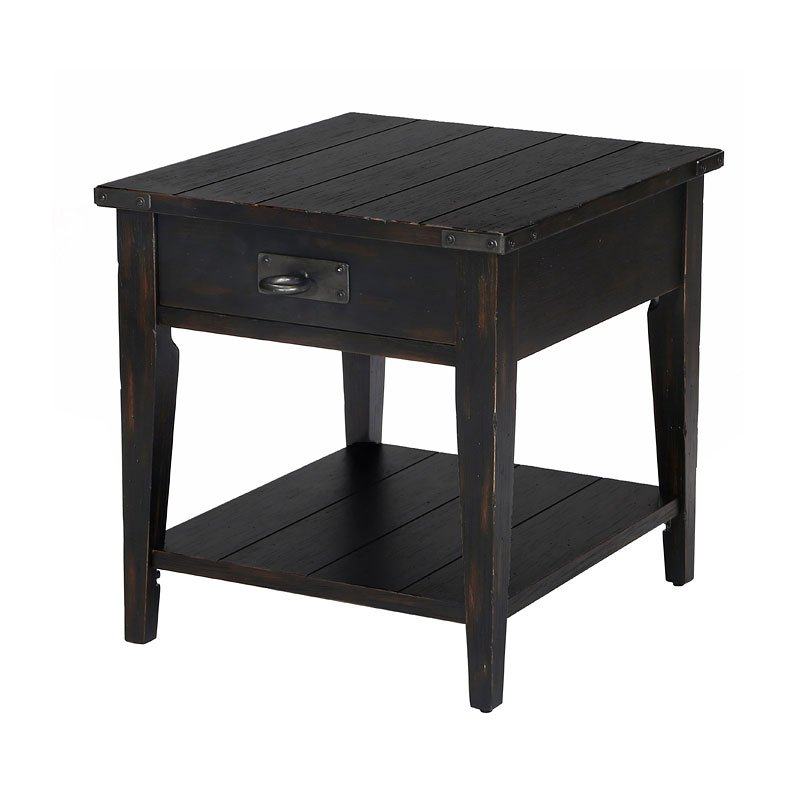 Black Coffee Table Sheffield: Sheffield End Table By Magnussen