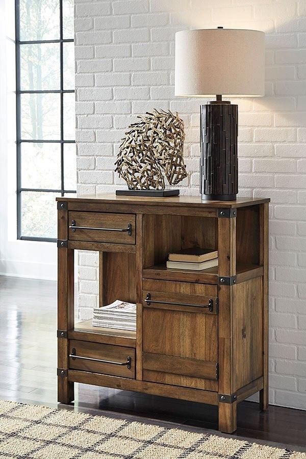 Nesso Walnut Living Room Set By Benchcraft Furniturepick