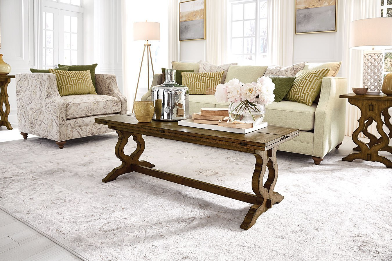 ashland flip top cocktail table by magnussen furniturepick. Black Bedroom Furniture Sets. Home Design Ideas