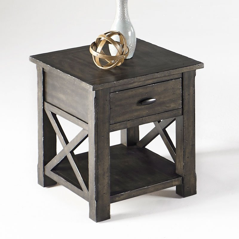 Crossroads End Table End Tables Occasional And Accent Furniture Living Room