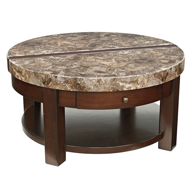 Kraleene Round Lift Top Cocktail Table By Signature Design