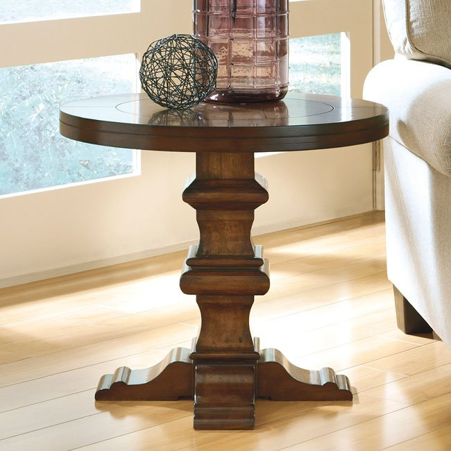 Gaylon Round End Table By Signature Design Ashley