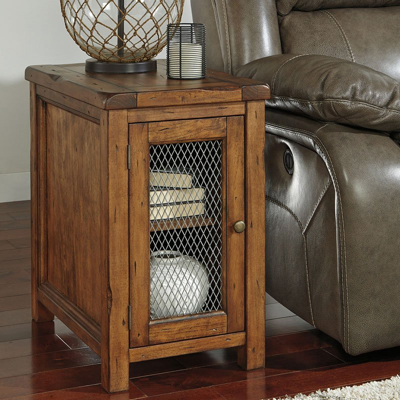 Tamonie Chairside Table End Tables Occasional And