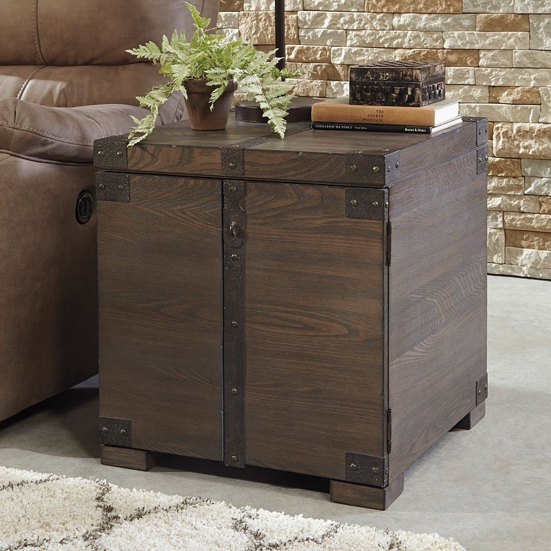 Bon Burladen Trunk End Table