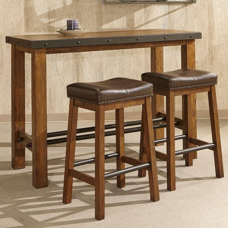 Taos Pub Table Set By Intercon Furniture Furniturepick