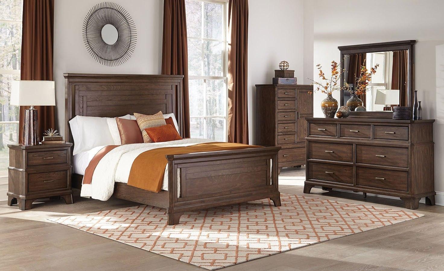 Telluride Panel Bedroom Set By Intercon Furniture