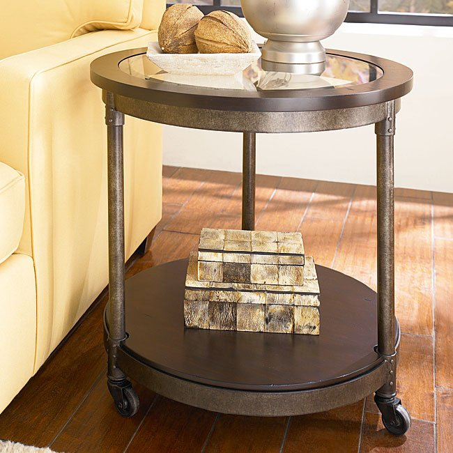 Structure round end table end tables occasional and for Html table structure