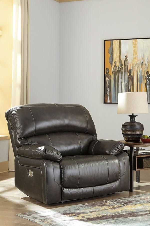 Gray Living Room Sets | Hallstrung Gray Power Reclining Living Room Set W Adjustable