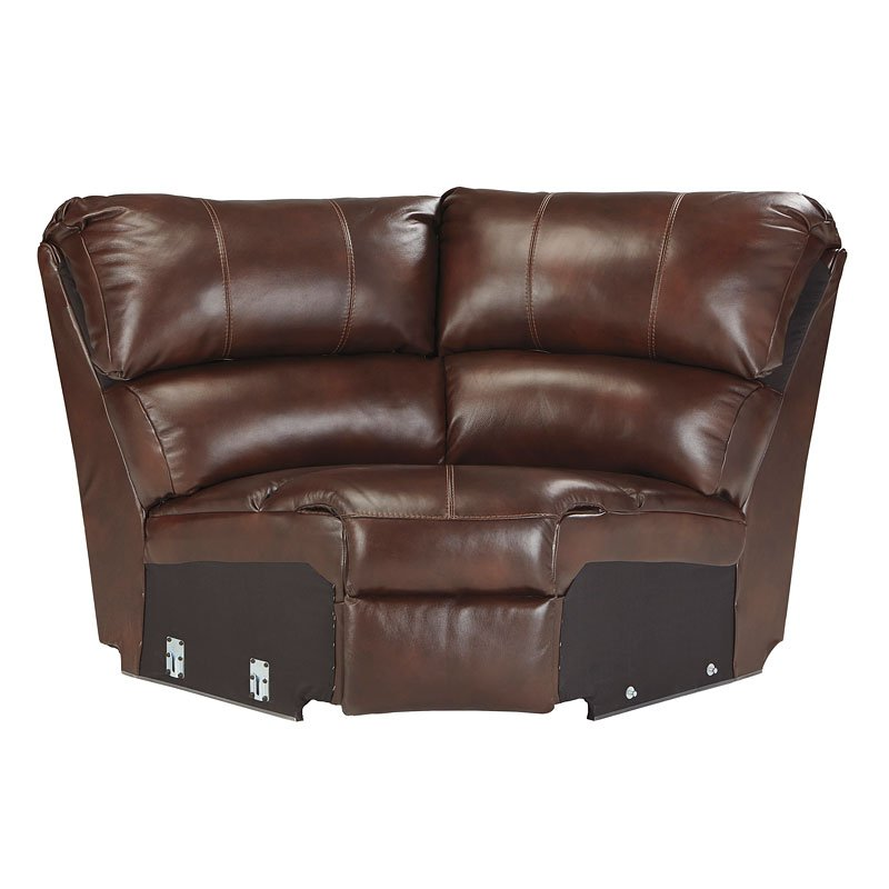 Collinsville Chestnut Reclining Sectional Set By Signature