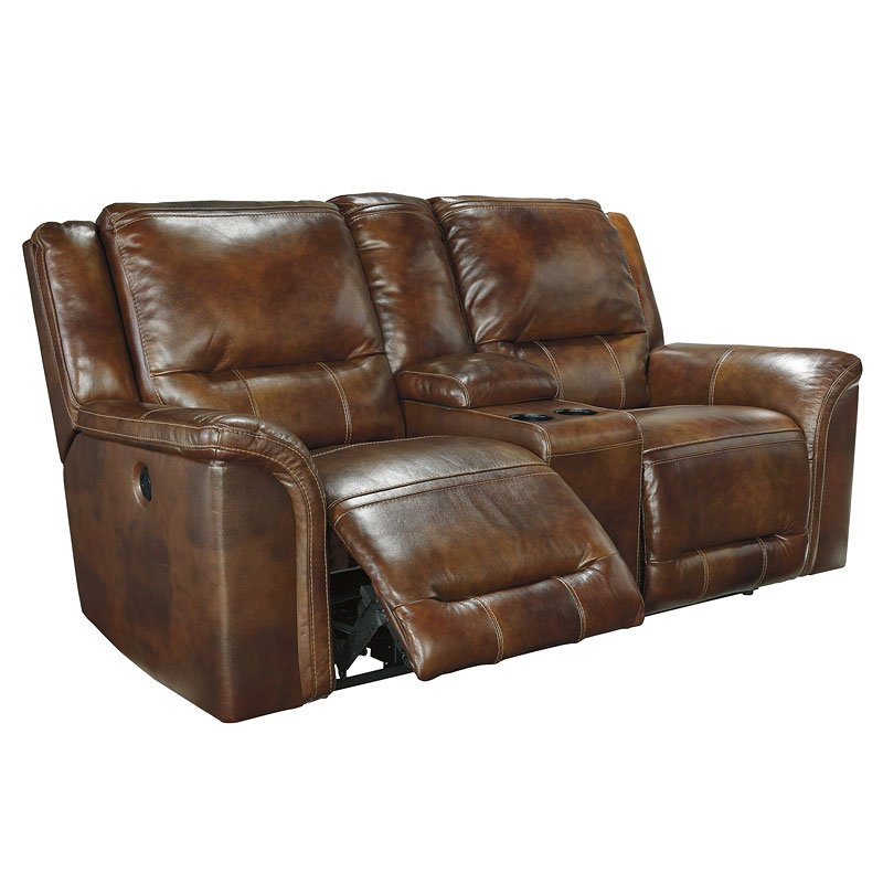 Peachy Jayron Leather Double Power Reclining Loveseat W Console Forskolin Free Trial Chair Design Images Forskolin Free Trialorg