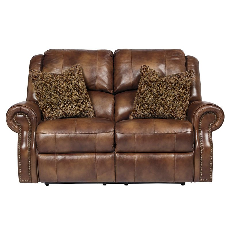 Walworth Auburn Reclining Loveseat By Signature Design By