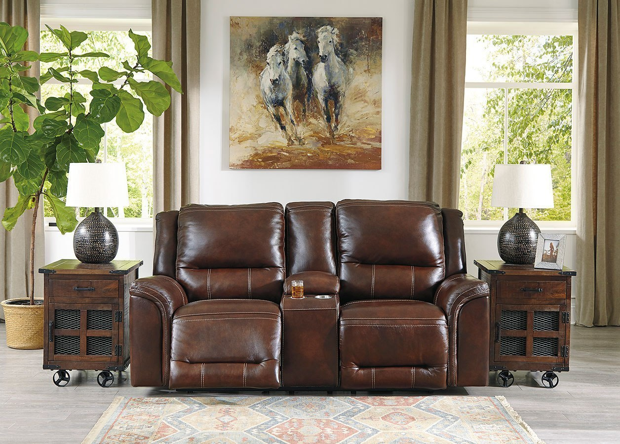 Groovy Catanzaro Mahogany Power Reclining Living Room Set W Adjustable Headrests Caraccident5 Cool Chair Designs And Ideas Caraccident5Info