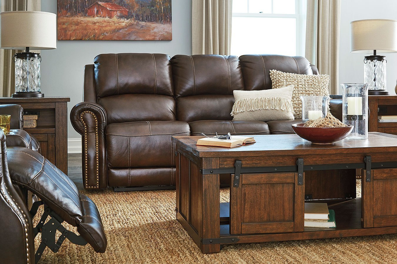Enjoyable Buncrana Chocolate Power Reclining Living Room Set W Adjustable Headrests Gmtry Best Dining Table And Chair Ideas Images Gmtryco