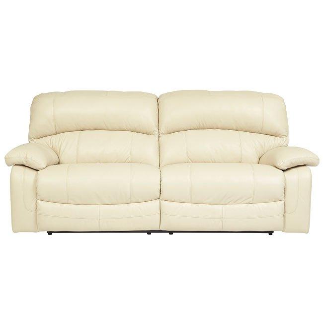 Damacio Cream Reclining Sofa W Power By Signature Design By Ashley