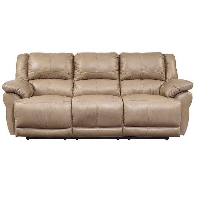 Lenoris Caramel Reclining Sofa By Signature Design By