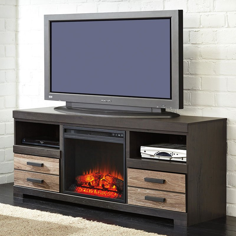 Harlinton Tv Stand W Fireplace Option By Signature Design By Ashley
