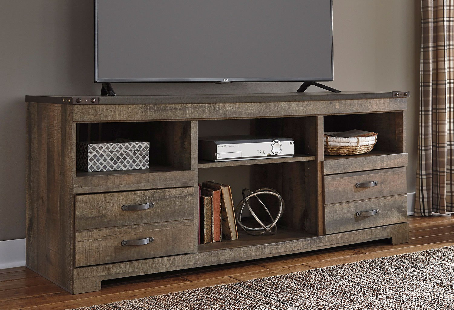 Trinell Large Tv Stand Tv Stands And Tv Consoles Tv